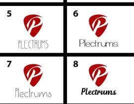 andreschacon218 tarafından I need a logo and cover photo for Facebook for my Plectrums business. için no 77