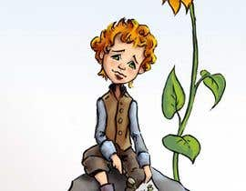 Nro 4 kilpailuun I need illustration for vincent van gogh in childhood which is 7-8 years old.   Cartoon style. Free sprite design. Creative käyttäjältä benedyh