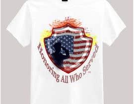 nº 19 pour Design Patriotic Tshirt Design par victoriaidem1