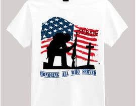 nº 20 pour Design Patriotic Tshirt Design par victoriaidem1