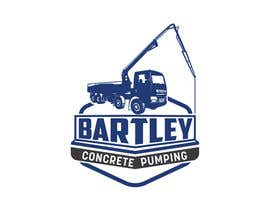 "#104 pentru Logo for ""Bartley Concrete Pumping"". Our concrete foundation business uses the Bartley Corp logo (see bartleycorp.com for more) Other pic are boom pump concrete examples. Use your creativity to perhaps combine a both pics & make it easy to read our name de către Designexpert98"