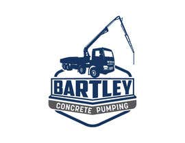 "#123 pentru Logo for ""Bartley Concrete Pumping"". Our concrete foundation business uses the Bartley Corp logo (see bartleycorp.com for more) Other pic are boom pump concrete examples. Use your creativity to perhaps combine a both pics & make it easy to read our name de către Designexpert98"