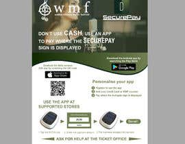 Nro 21 kilpailuun Flyer for an app download at a music festival käyttäjältä mamun1412