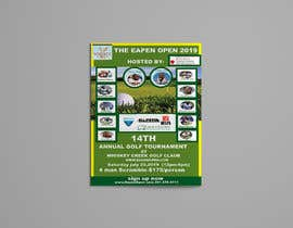 #42 для Charity Golf Tournament Flyer от shamima1983akter
