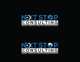 #825 for LOGO for: Next STOP Consulting by herobdx