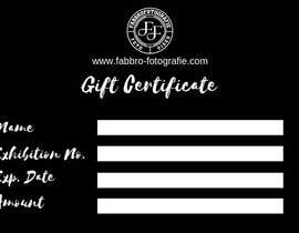 #11 for Design a matching gift certificate for my website. by Arghya1199