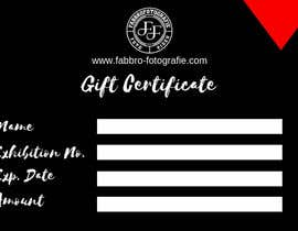 #12 for Design a matching gift certificate for my website. by Arghya1199