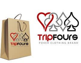 Nro 42 kilpailuun Logo for Poker Clothing Brand käyttäjältä AshishMomin786