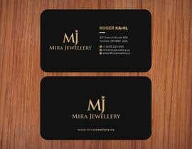 #46 untuk Design a Business Card for a Jewellery Company oleh SSarman88