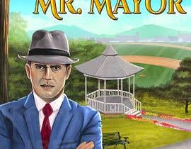 """Nro 29 kilpailuun I need a illustration for a musical production called """" Dear Mr Mayor"""". The gazebo being the main focus and the baseball field in the background with a gruff looking Mayor in the front left. käyttäjältä irefirus80"""