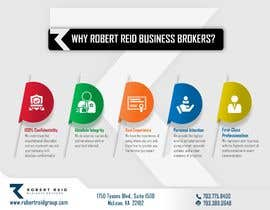 #18 for Design Infographic showing Why Robert Reid Business Brokers by Gemy95