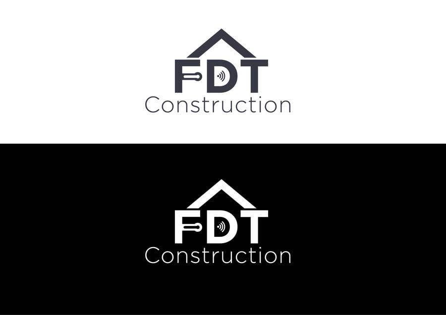 Конкурсная заявка №                                        41                                      для                                         Create a modern logo for a smart home construction company