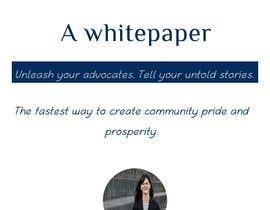nesmajoseph tarafından Corporate PDF document - Whitepaper için no 8
