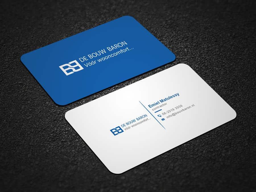 Inscrição nº 51 do Concurso para business card contractor