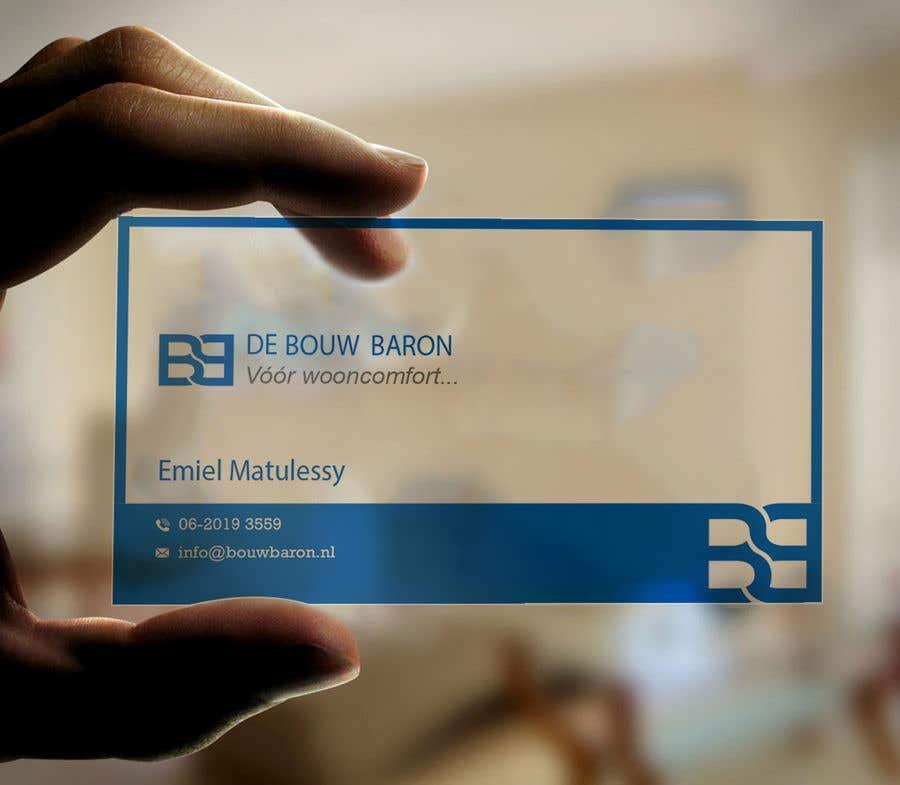 Inscrição nº 252 do Concurso para business card contractor