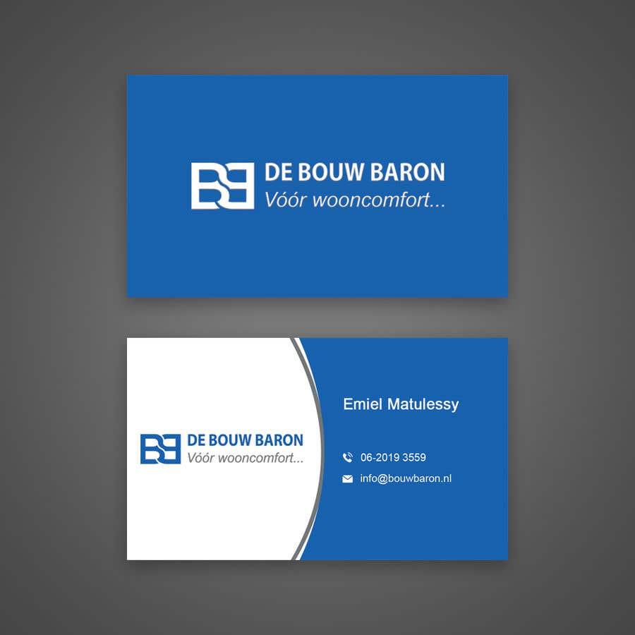 Inscrição nº 130 do Concurso para business card contractor