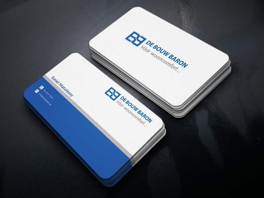 Inscrição nº 43 do Concurso para business card contractor