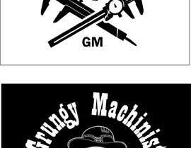 #2 for Grungy Machinist Logo by GuillermoPitones