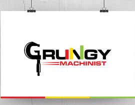 nº 21 pour Grungy Machinist Logo par fourtunedesign