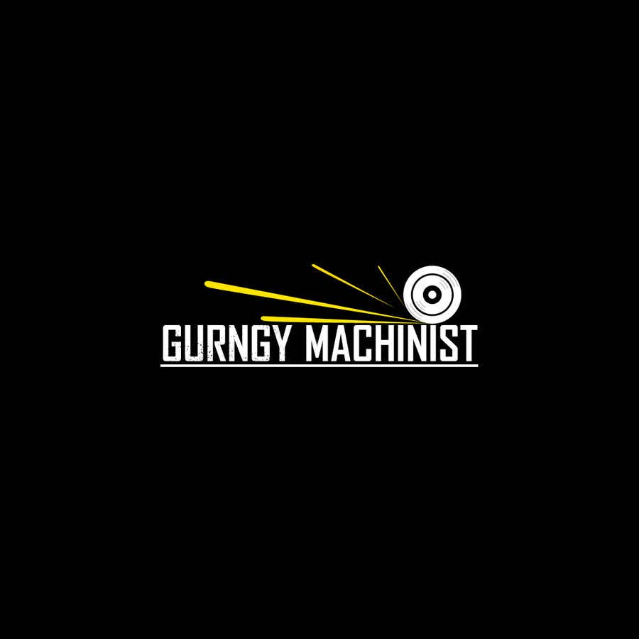 Konkurrenceindlæg #58 for Grungy Machinist Logo