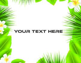#50 para Design a palm tree/banana leaf pattern I can use for my product por sahed3949