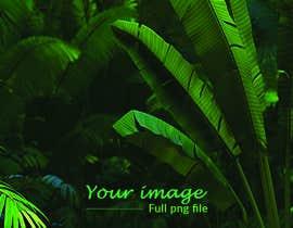 Nro 11 kilpailuun Design a palm tree/banana leaf pattern I can use for my product käyttäjältä MDSUMONSORKER