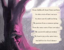 """Nro 86 kilpailuun Edgar Allan Poe's """"Alone"""" käyttäjältä Freemanshorizon"""
