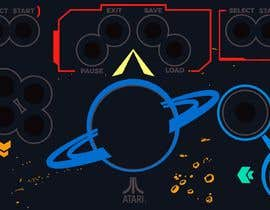 #22 for Arcade Control Panel Illustration af chauminhpham