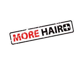 #76 for Logo Design for MOREHAIR af sproggha