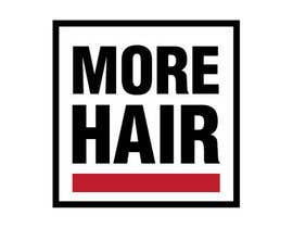 #188 for Logo Design for MOREHAIR by MonstroGigante