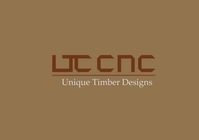 Penyertaan Peraduan #58 untuk I need a logo designed. I have a small CNC Routing business for custom Timber designs (mainly artwork and 3D carving).
