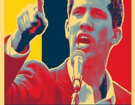 simran993 tarafından Create iconic Obama's Hope design on President Guaido için no 12