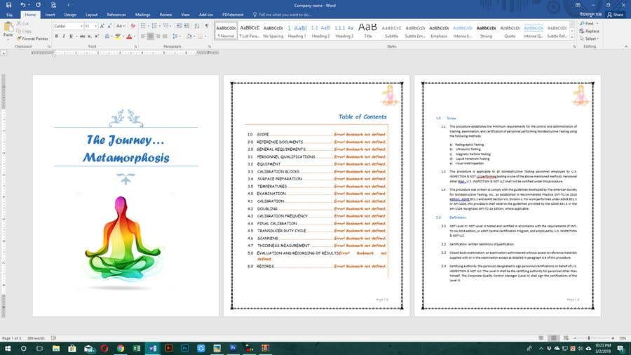 Penyertaan Peraduan #4 untuk format and spellcheck 200 page Ebook
