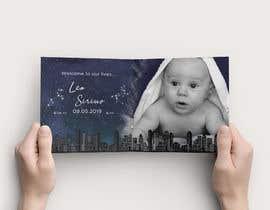 nº 3 pour Birth Announcement Card par EliteVision