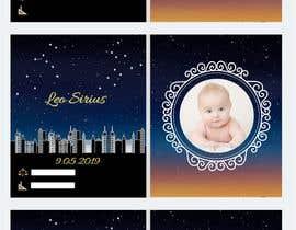 nº 44 pour Birth Announcement Card par Arghya1199