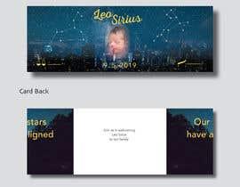 nº 29 pour Birth Announcement Card par JustSeanArt