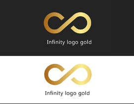 ismailxamas tarafından Infinity logo gold için no 8