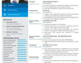 nº 12 pour Design a resume to assist job applications into the property sector par Androclesdaud
