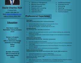 nº 16 pour Design a resume to assist job applications into the property sector par AkterGraphics