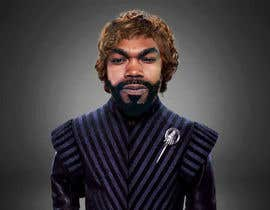 #7 para My face imposed on Tyrion Lannister's body keeping his hair but black & scare on face. por MatiasDelera