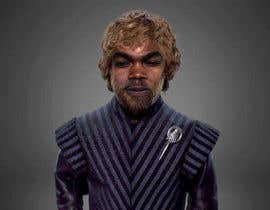 #9 para My face imposed on Tyrion Lannister's body keeping his hair but black & scare on face. por hrshawon1