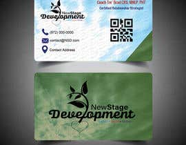 #104 para design double sided business card - NSD por saifuldesigner90