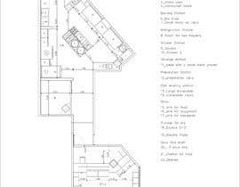 #6 for Kitchen and deli floor plan by alvarorodriguez