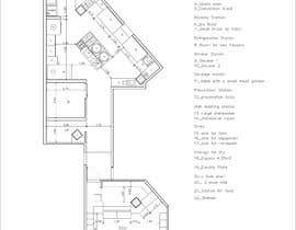 #11 for Kitchen and deli floor plan by alvarorodriguez