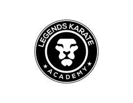 "Shahnewaz1992 tarafından A badge/logo for me karate club ""Legends Karate Academy"" as well as some different types of logo representation - colours black and white - some lion head examples attached as examples only - also a mock up of a landing page of a website - 03/03/2019 19:1 için no 10"