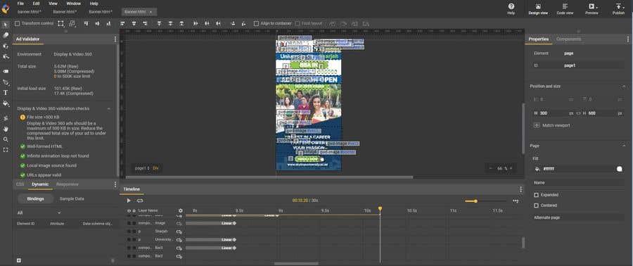 Entry 14 By Cloudz2 For Google Web Designer Html5 Ad Banner Freelancer