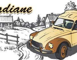 nº 16 pour Illustration avec Citroën Acadiane par khalidflp