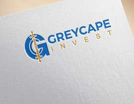 """#12 untuk name """"Greycape Invest"""". Thinking like a G with an C and two swords that is like the I. It can also be something like a medieval cape in logo. oleh bluebd99"""