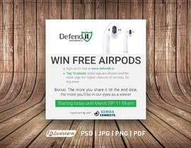 Nro 13 kilpailuun Promotional banner for giveaway käyttäjältä awaisahmedkarni