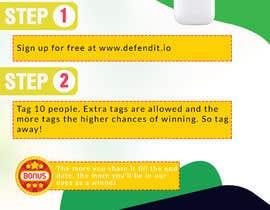 Nro 18 kilpailuun Promotional banner for giveaway käyttäjältä KAMALESH0123